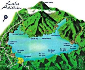 A map of this magical mountain top where treasure is chocolate, and you feel like you could touch the sky.
